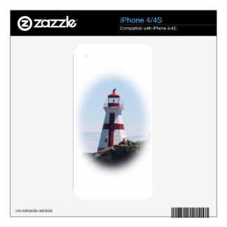 East Quoddy Lighthouse Skin For iPhone 4