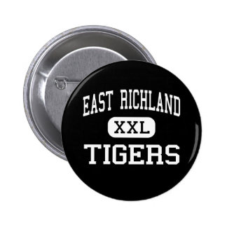 East Richland - Tigers - High - Olney Illinois Button