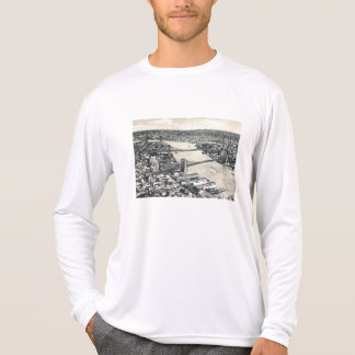 East River Bridges, New York City Vintage T-Shirt
