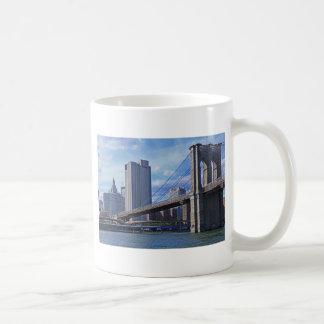 East River: Brooklyn Bridge & Municipal Building Mugs