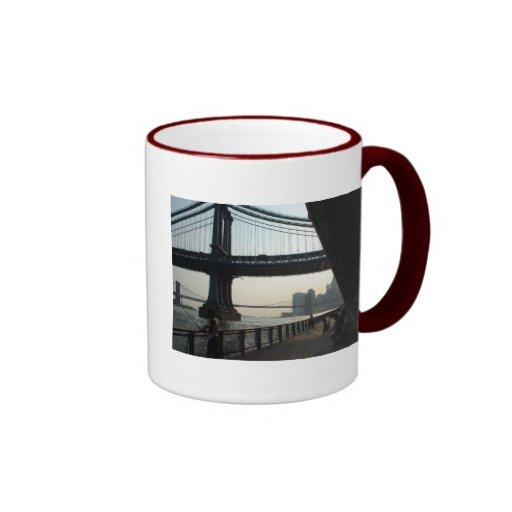 East River Fishing Coffee Mug