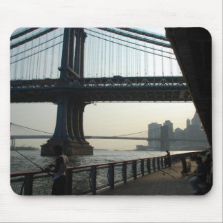 East River Fishing Mouse Pads