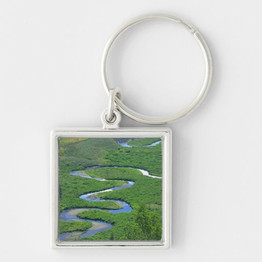 East River near the town of Crested Butte. Keychain
