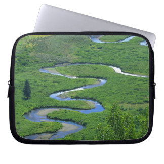 East River near the town of Crested Butte. Laptop Sleeve