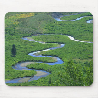 East River near the town of Crested Butte. Mouse Pad