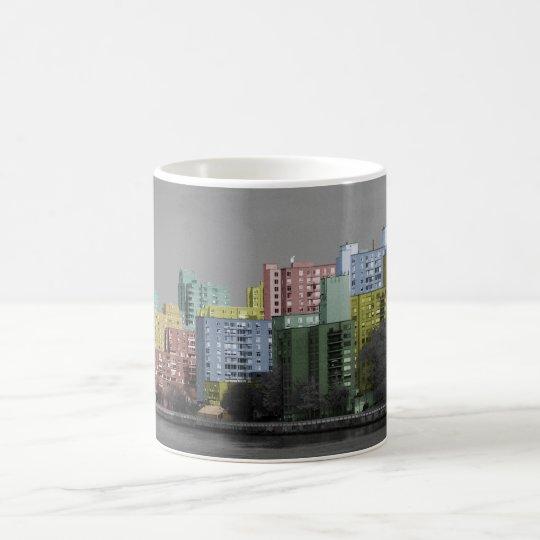East River Skyline Panorama Mug