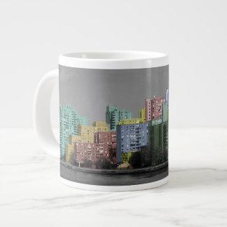 East River Skyline Panorama Mug 20 Oz Large Ceramic Coffee Mug