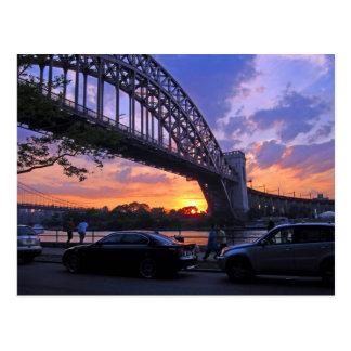 East River Sunset Postcard