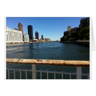 East River View Into Hell Gate Card