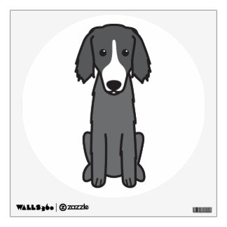 East Russian Coursing Hound Dog Cartoon Wall Decal