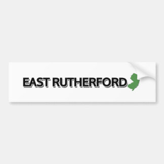 East Rutherford, New Jersey Car Bumper Sticker
