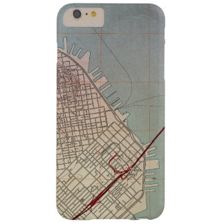 East San Francisco Topographic Map Barely There iPhone 6 Plus Case
