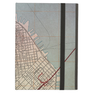 East San Francisco Topographic Map Case For iPad Air
