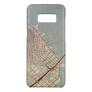 East San Francisco Topographic Map Case-Mate Samsung Galaxy S8 Case