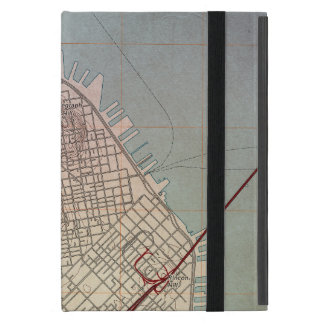 East San Francisco Topographic Map Cover For iPad Mini