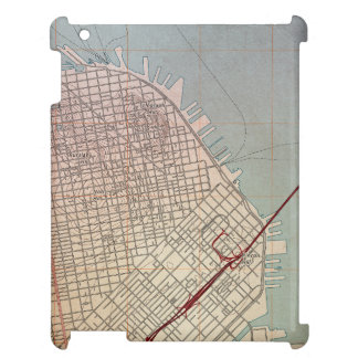 East San Francisco Topographic Map Cover For The iPad 2 3 4