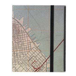East San Francisco Topographic Map iPad Folio Case