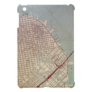 East San Francisco Topographic Map iPad Mini Cover