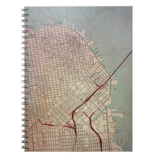 East San Francisco Topographic Map Notebook