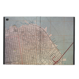 East San Francisco Topographic Map Powis iPad Air 2 Case