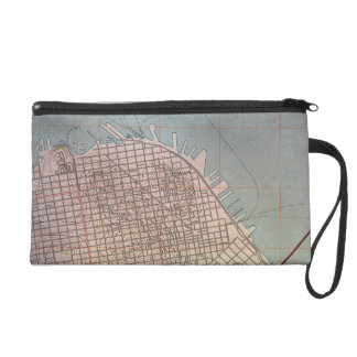 East San Francisco Topographic Map Wristlet
