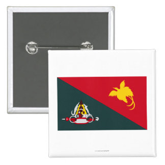 East Sepik Province, PNG Pinback Button