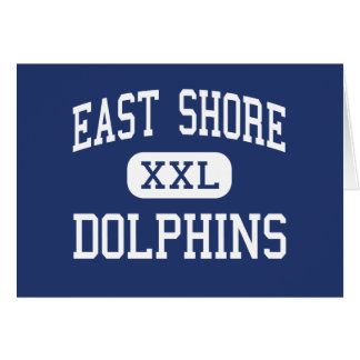 East Shore Dolphins Middle Milford Greeting Card