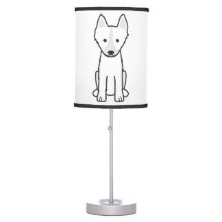 East Siberian Laika Dog Cartoon Desk Lamp
