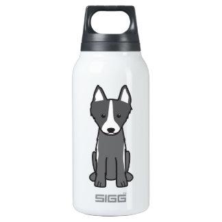 East Siberian Laika Dog Cartoon Insulated Water Bottle