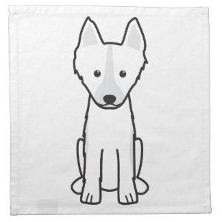 East Siberian Laika Dog Cartoon Napkin