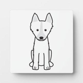 East Siberian Laika Dog Cartoon Plaque