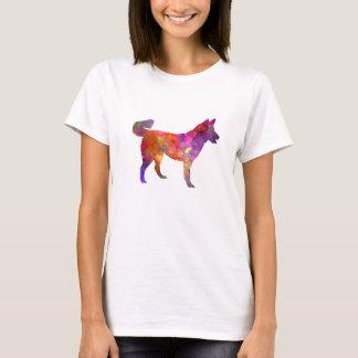 East Siberian Laika in watercolor T-Shirt