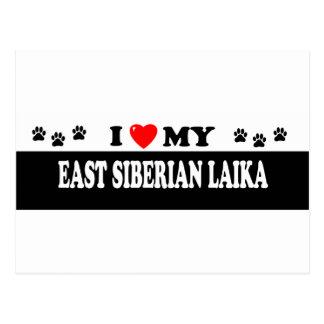 EAST SIBERIAN LAIKA POSTCARD