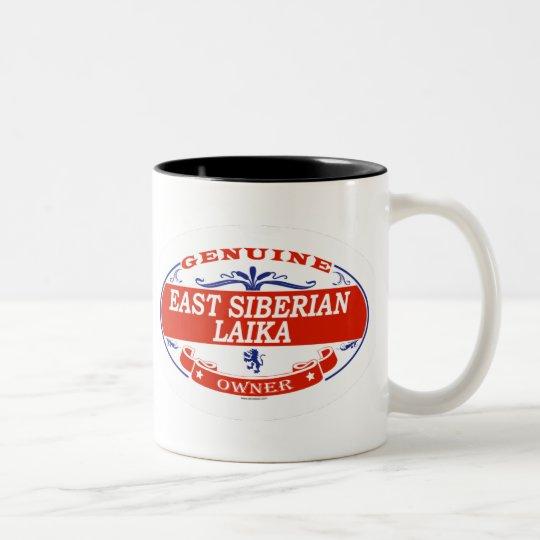 East Siberian Laika  Two-Tone Coffee Mug