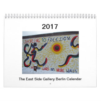 East Side Gallery Berlin Calendar