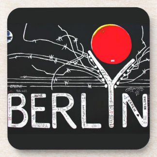 East Side Gallery, Berlin Wall, Barbed Wire/Red Su Coaster