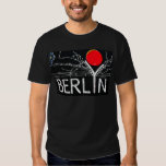 East Side Gallery, Berlin Wall, Barbed Wire/Red Su T-Shirt