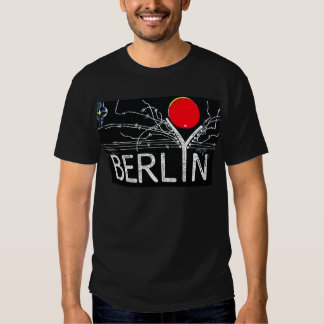 East Side Gallery, Berlin Wall, Barbed Wire/Red Su T Shirt