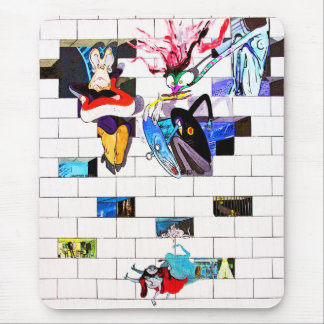 East Side Gallery, Berlin Wall, Brick Art(1) Mouse Pad