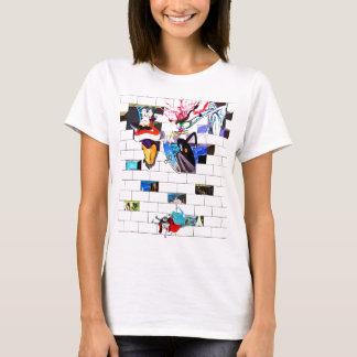 East Side Gallery, Berlin Wall, Brick Art(1) T-Shirt