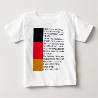 East Side Gallery, Berlin Wall, Commerate Fall Of, Baby T-Shirt