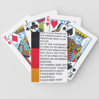 East Side Gallery, Berlin Wall, Commerate Fall Of, Bicycle Playing Cards