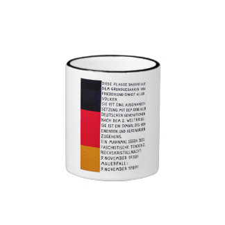East Side Gallery, Berlin Wall, Commerate Fall Of, Ringer Mug