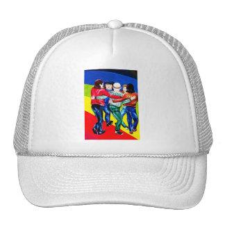 East Side Gallery, Berlin Wall, Dancing (1) Trucker Hat
