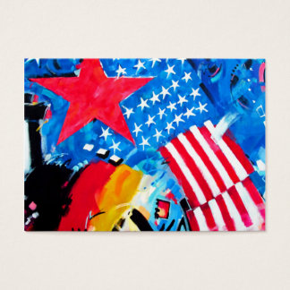 East Side Gallery, Berlin Wall, Flags Business Card