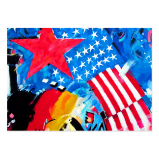 East Side Gallery, Berlin Wall, Flags Large Business Cards (Pack Of 100)