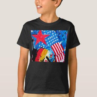 East Side Gallery, Berlin Wall, Flags T-Shirt