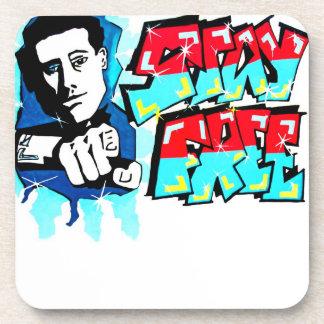 East Side Gallery, Berlin Wall, Freedom, Free Drink Coaster