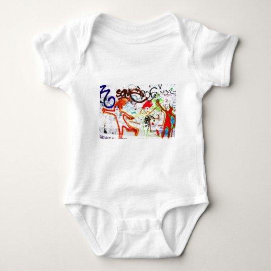 East Side Gallery, Berlin Wall, Graffiti (2) Baby Bodysuit