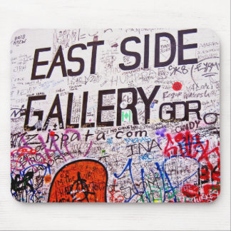East Side Gallery, Berlin Wall, Graffiti Mouse Pad